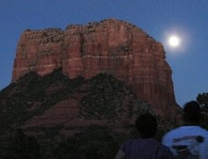 Sunset-Starlight, Nature at Night Solo Vision Circle Sedona seminar