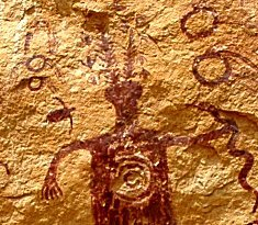 rock art, shaman, ceremony