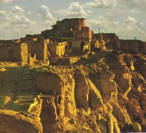 Hopi clifftop village of Walpi. Symbolic of the ancestral villages, Hopi culture and Hopi journey experiences.