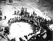 1879 Hopi Woman's ceremonial dance. When available, our guests may be invited to attend a community activity in one of the Hopi Villages