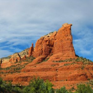Coffeepot Rock, part of Sedona Explorer and Sedona Vortex Tours by Crossing Worlds Journeys. photo by Rusty Albertson
