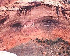 Mummy Cave, Canyon de Chelly; symbolizes earth-spirit connection, ancestor wisdom and Navajo Spirit Journey